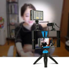 MEW Cage Stabilizer Rig+ Tripod Mount+LED + Mic Kit For Smartphone Camera Video