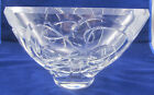 KOSTA Vicke Lindstrand Large Glass Bowl with Cut Out Shapes