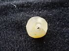Beautiful little egg yolk Amber Viking bead found in Yorkshire England L33n