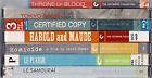 Criterion Collection on DVD 3rd one FREE ex library re furbished