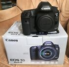 Canon EOS 5D Mark III Mark 3 in Excellent working condition but shows wear