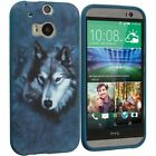 Accessory Planet(TM) Wolf TPU Design Soft Rubber Case Cover Accessory for HTC On