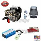 PD19J Carb Gy6 60cc 50cc 49cc UPGRADE Performance Kit Air Filter CDI Spark Plug