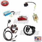 Ignitio Coil 6 D Stator Spark Plug CDI Fuel Filter Solenoid GY6 150cc Scooter