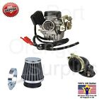 20mm 139 QMB GY6 50cc Carburetor Intake Manifold Boot Air Filter Scooter Moped
