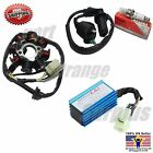 GY6 50cc 8 Pole Magneto Stator Coil Performance Ignition Coil CDI Box Go Kart AC