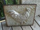Embossed Galvanized Metal ROOSTER*Primitive/French Country/Urban Farmhouse Decor