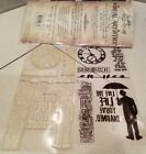 Lifes Possibilities Tim Holtz Clear Acrylic Stamp Set by 09 Stampers Anonymous