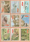 Planet of The Apes 1969 Topps MOVIE Complete (44 44) Card Set + Bonus !!!