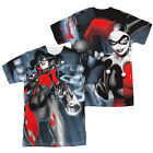BATMAN HRLEY QUINN NICE SHOT Licensed Adult Men's Graphic Tee Shirt SM-3XL