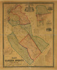 1857 Map of Camden County New Jersey