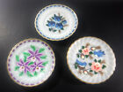 (3) Anchor Hocking Fire King, Milk Glass, Oven Proof, Hand Painted 7 1/4