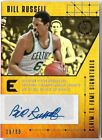 BILL RUSSELL 2017 PANINI ESSENTIALS AUTO AUTOGRAPH CARD #29 99!
