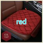 Comfortable Car Front Seat Plush Cotton Cover Non-slip Breathable Auto Cushion