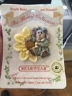 Bearwear The Floral Collection Pin Boyds Bears Never Worn D38