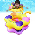 Inflatable Bee Tube Pool Float Beach Swimming Toy Swim Ring for Kids Children