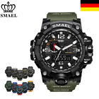 SMAEL Armbanduhr LED Digitaluhr Analog Sportuhr Militär Outdoor Wasserdicht 50m