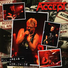 Accept - All Areas - Worldwide CD (1997) European Import UDO !