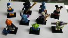lot of nine disney lego minfigures