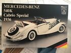 Rivarossi Pocher Mercedes Benz 540k Cabrio Special 1936 1/8 Scale Model