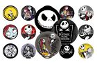 Nightmare Before Christmas Pre Cut 1 Inch Bottle Cap Images 7 Options