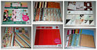 Huge Lot of 12x12 Scrapbook Paper DCWV Recollections Basic Grey 200+ Pages