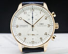 IWC IW371480 Portugieser Chronograph 3714-80 EXCELLENT CONDITION W/ BOX!