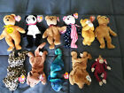 Ty Beanie babies lot RARE Includes Dimples, Cashew, Curly, Hope, Spangle, etc.