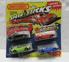 Vintage Matchbox Speed Sticks customizing kit 4 pack