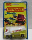 Vintage Matchbox Superfast No 63 Gas Tanker Shell