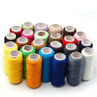 24 48 Spools 200 Yard Mixed Colors 100 Polyester Sewing Threads Set All Purpose