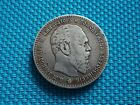 RUSSIAN EMPIRE 1 RUBLE ROUBLE 1886 (А.Г) CZAR ALEXANDER III SILVER 900 COIN !