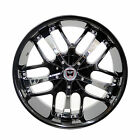 Set of 4 GWG Wheels 18 inch Black Chrome SAVANTI Rims 5x110 ET40 CB741