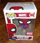 FUNKO POP SPIDER-MAN MARVEL EXCLUSIVE COLLECTOR CORPS #160 NEW