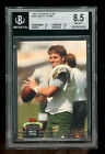 NFL Packers • 1992 Stadium Club Football #683 • Brett Favre RC • BGS 8.5 NM-MT+