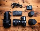 Used Nikon D600 Kit Bundle With 24 70mm 28  70 200mm Plus Much More