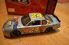 NASCAR ACTION JEFF GORDON 24 2000 CLUB CLEAR WINDOW BANK AUTOGRAPHED DIECAST