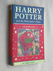 Harry Potter and the Philosophers Stone First 1st edition Bloomsbury pb