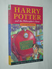 Harry Potter and the Philosophers Stone J K Rowling 1st First edition pb UK