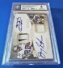 2009 EXQUISITE, QUAD AUTO PATCHES - SMITH SANDERS SAYERS TOMLINSON, #3 5 BGS8!