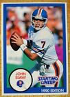 1990 John Elway Starting Lineup Action Figure and Both Cards. non auto