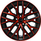 4 GWG Wheels 20 inch Crimson Red FLARE Rims fits CADILLAC DTS PERFORMANCE PKG