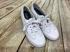 Womens KEDS White WH53121 Ortholite Craze T TOE Casual Sneakers Shoes GUC