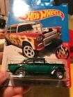 Hot wheels Custom Made 55 Chevy Bel Air Gasser w real riders 2 Tone Candy