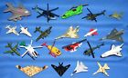 MIXED LOT OF DIE CAST AIRPLANES+ HELICOPTERS+ SPACE SHUTTLES MATCHBOX