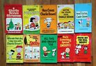 Snoopy Peanuts Charlie Brown Book Lot of 10