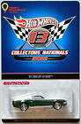HOT WHEELS 2013 13TH ANNUAL COLLECTORS NATIONALS CONVENTION 67 SHELBY GT500