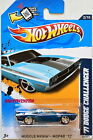 HOT WHEELS 2012 SUPER TREASURE HUNT 71 DODGE CHALLENGER W+