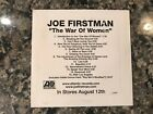 Joe Firstman Promo Cd! See) Cordovas/Jewel/Cybernauts/Julie Mintz/Dave Beste