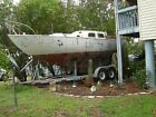 Iconic 1961 28 Ft Pearson Triton w Custom Made Trailer Complete w Sails Canvas
